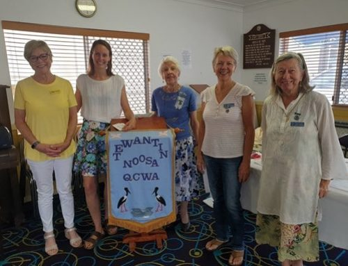 The Wonder Women of Tewantin Noosa QCWA